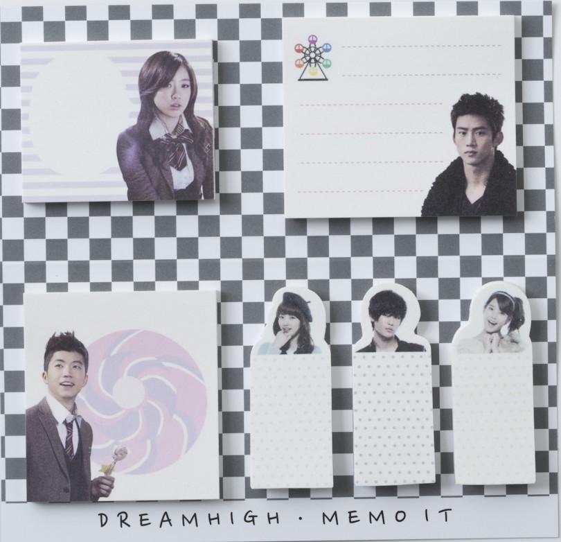Dream High Memo sticker- Black