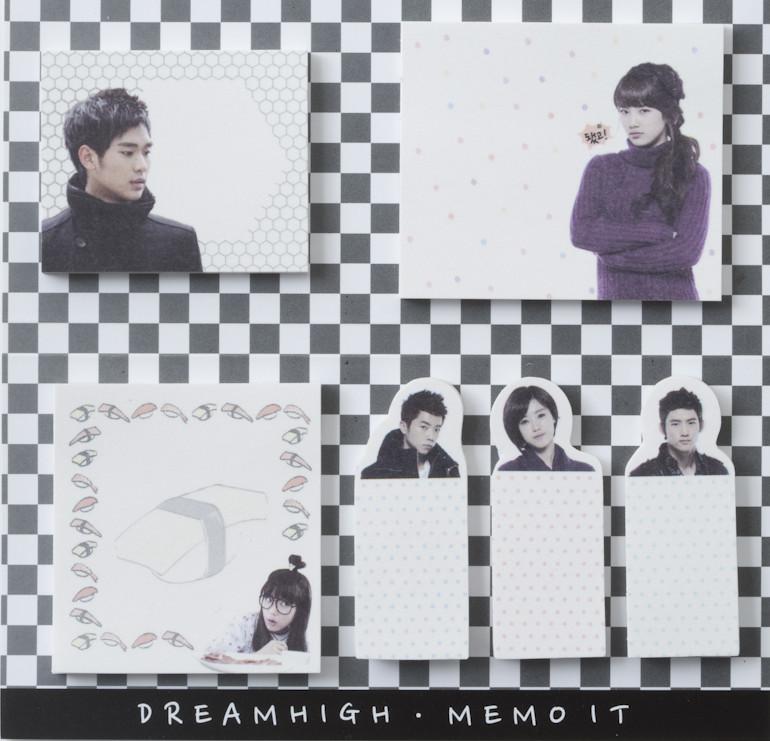 Dream High Memo sticker- White