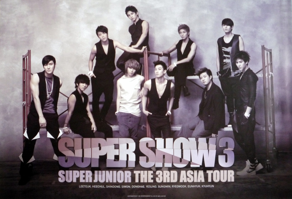 Super Junior- Super Show 3 Poster | Seouly Shopping