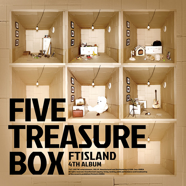 FT Island- Five Treasure Box