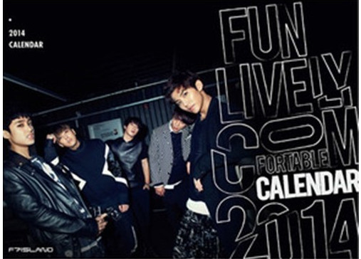 FT Island 2014 calendar