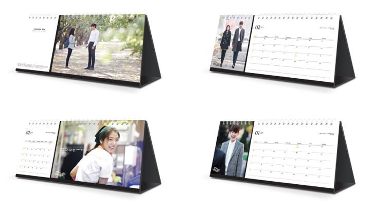 The Heirs 2014 calendar 1