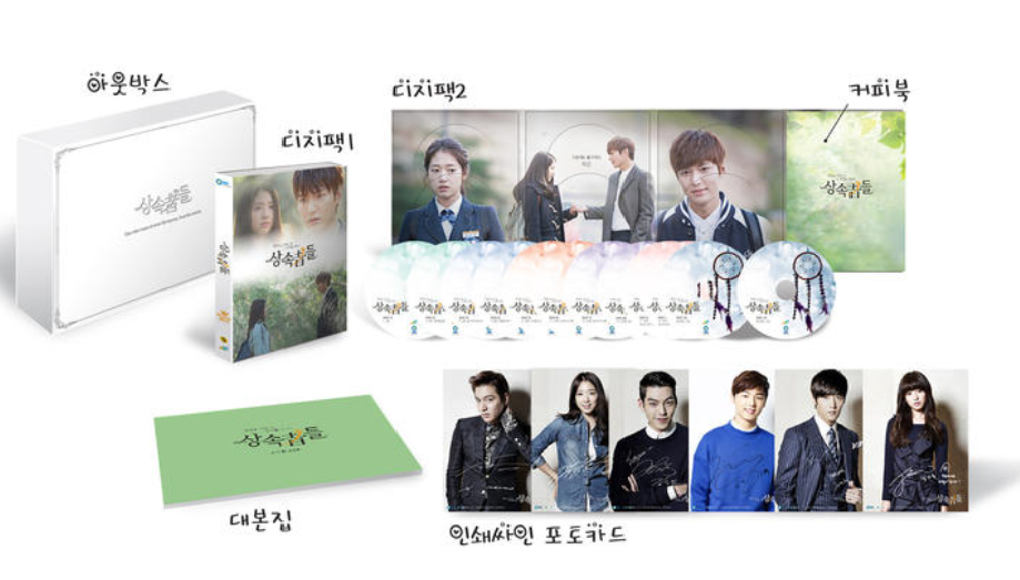The Heirs DVD contents