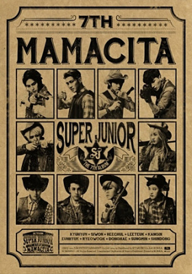 Super Junior- Mamacita Version B
