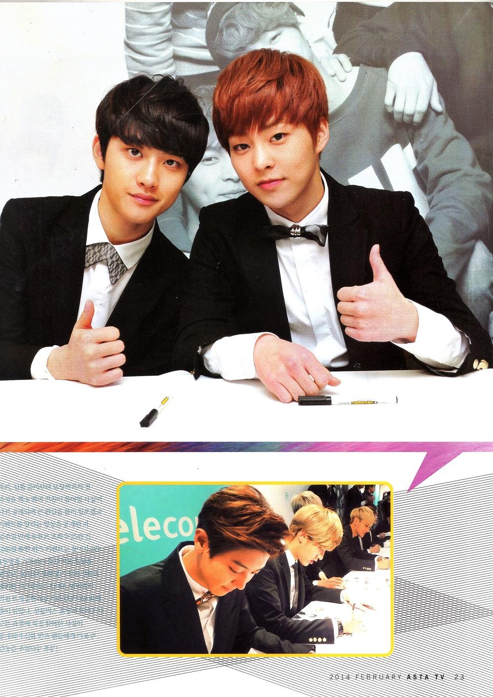 Asta TV Feb 14, EXO