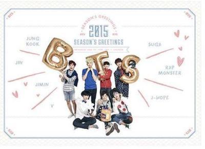 BTS 2015 Season's Greetings