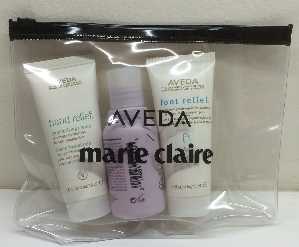 Marie Claire Nov 14, Aveda set