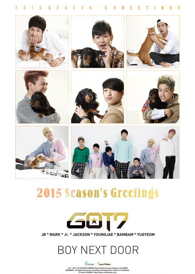 GOT7- 2015 Seasons Greetings