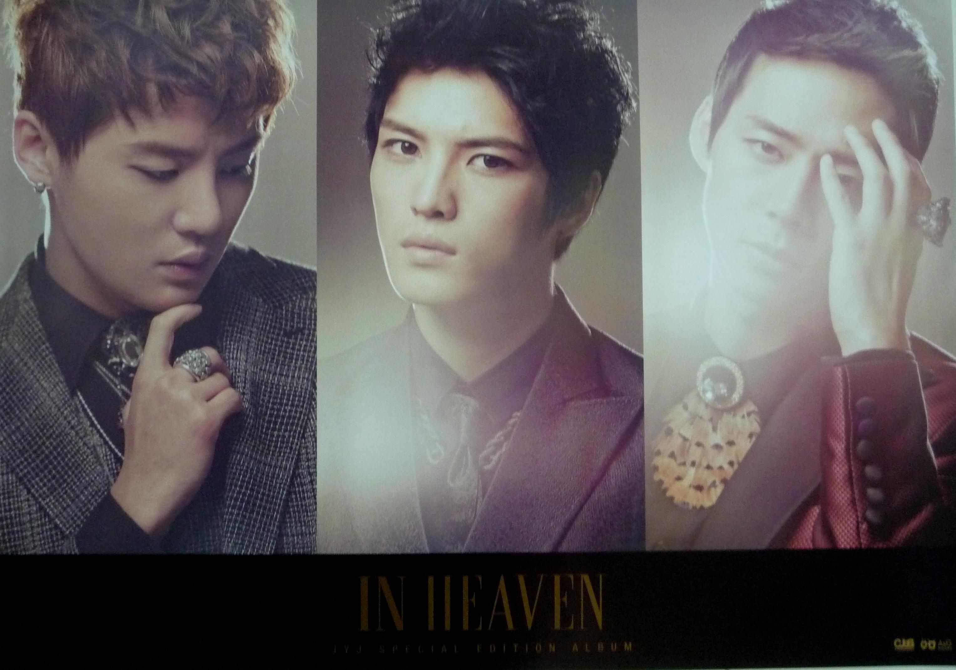 JYJ- In Heaven (Ltd Ed)