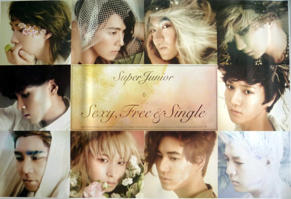 Super Junior- Sexy, Free n Single