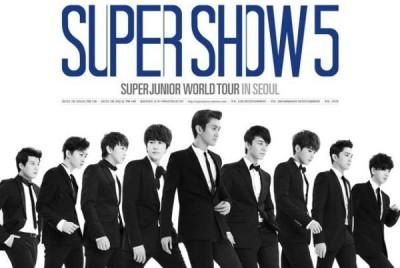 Super Junior- Super Show 5 World Tour in Seoul (DVD)