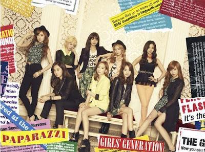 Girls Generation- Paparazzi (CD+DVD)