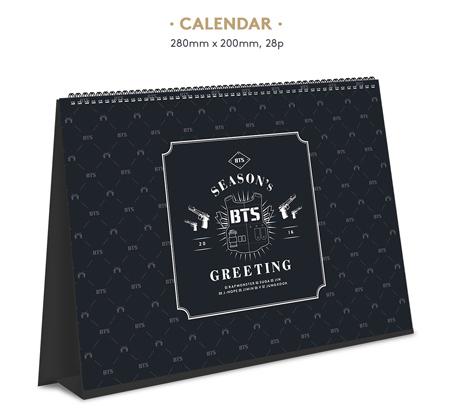 BTS- 2016 Season's Greetings (calendar)