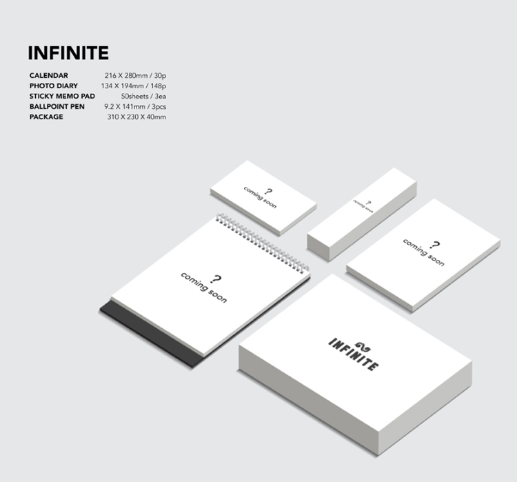 Infinite- 2016 Season's Greetings