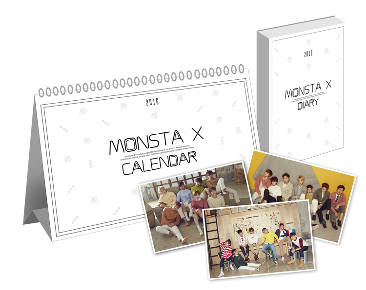 Monsta X- 2016 Season's Greetings